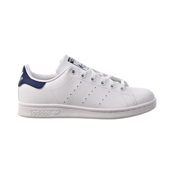 Adidas Stan Smith J Big Kids' Shoes Cloud White-Cloud White-Dark Blue