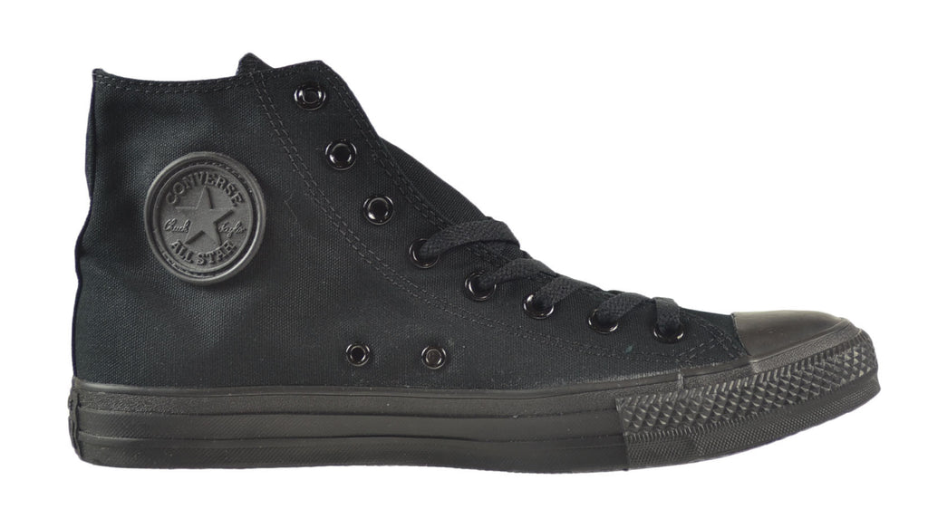 Converse Chuck Taylor All Star HI Unisex Shoes Black Monochrome