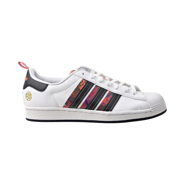 Adidas Superstar Chinese New Year Men's Shoes White-Black-Scarlet