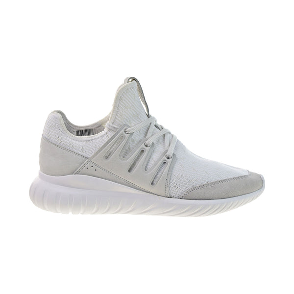 Adidas Tubular Radial Primeknit Men's Shoes Vintage White