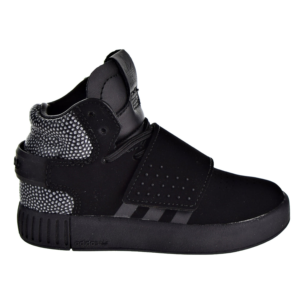 Adidas Originals Tubular Invader Ray Black Toddlers Shoes Black/Black