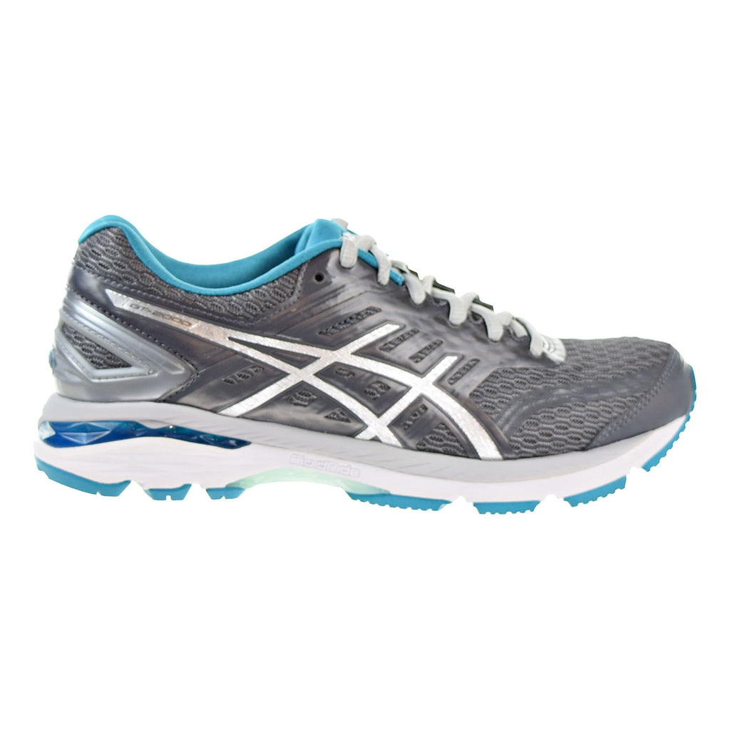 Asics GT-2000 5 Women's Shoes Carbon/Silver/Island Blue