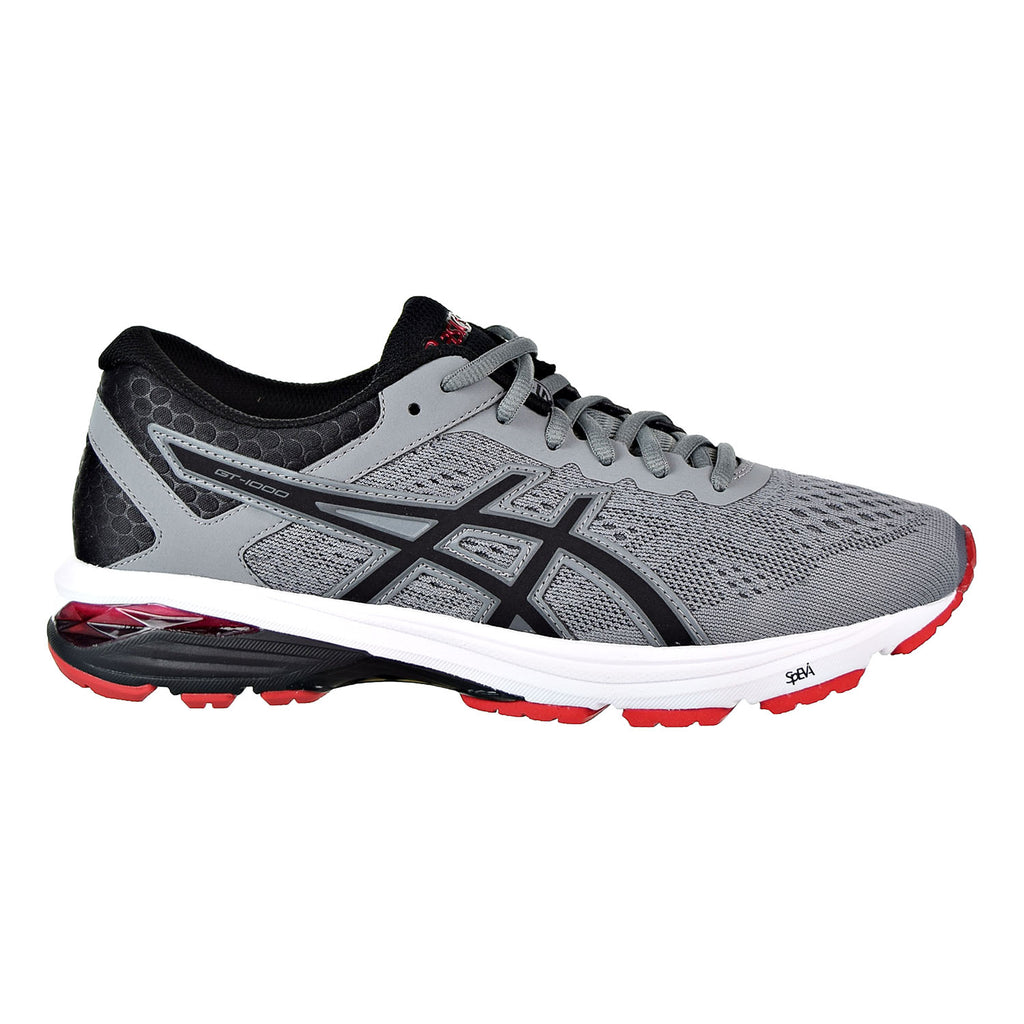 Asics GT-1000 6 Men's Running Shoes Stone Grey/Black/Classic Red