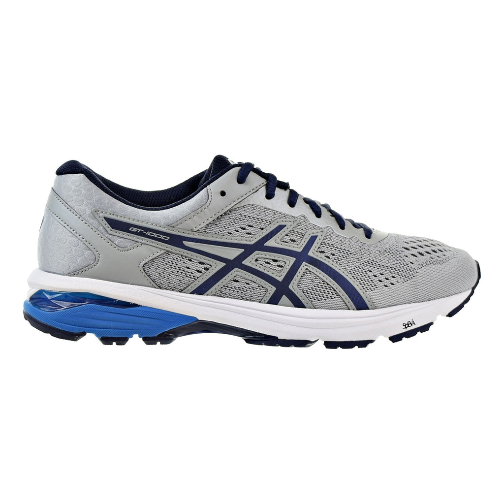 Asics GT-1000 6 Men's Shoes Mid Grey/Peacoat/Directoire Blue