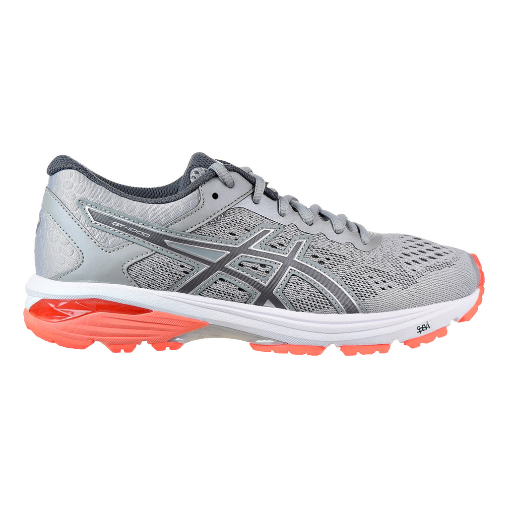 Asics GT-1000 6 Women's Shoes Mid Grey/Carbon/Flash Coral