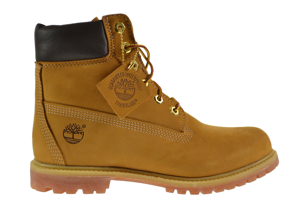 Timberland AF 6 Inch Premium Women's Boots Wheat Nubuck