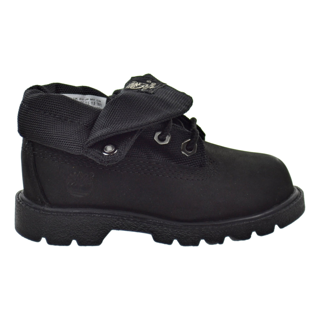 Timberland Roll Top Toddler Shoes Black