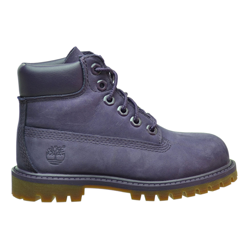 Timberland 6 Inch Premium WP Toddler Boots Purple