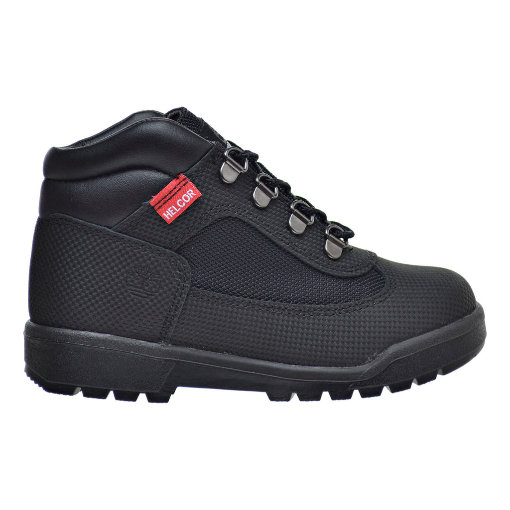 Timberland Little Kid's Field Boots Black Helcor