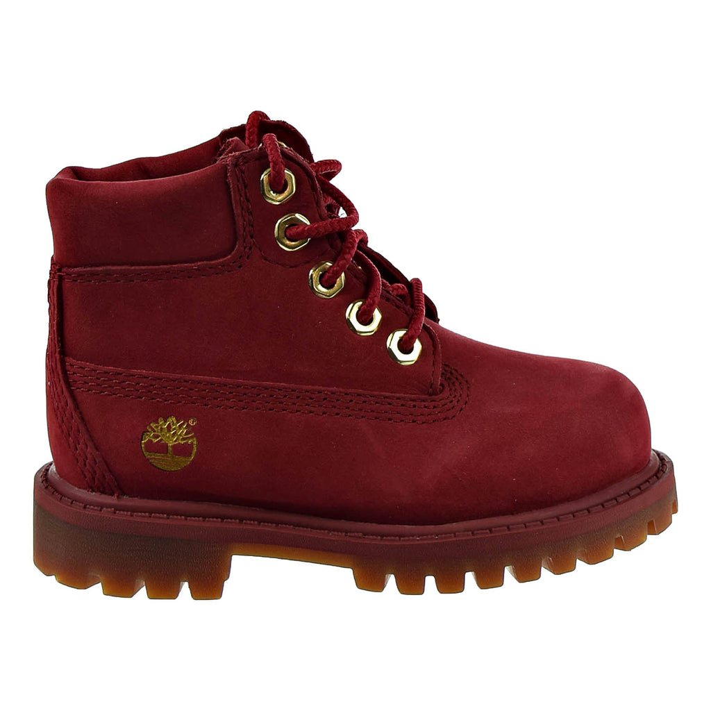 Timberland  6 Inch Premium Toddler's/Petits Boot Red
