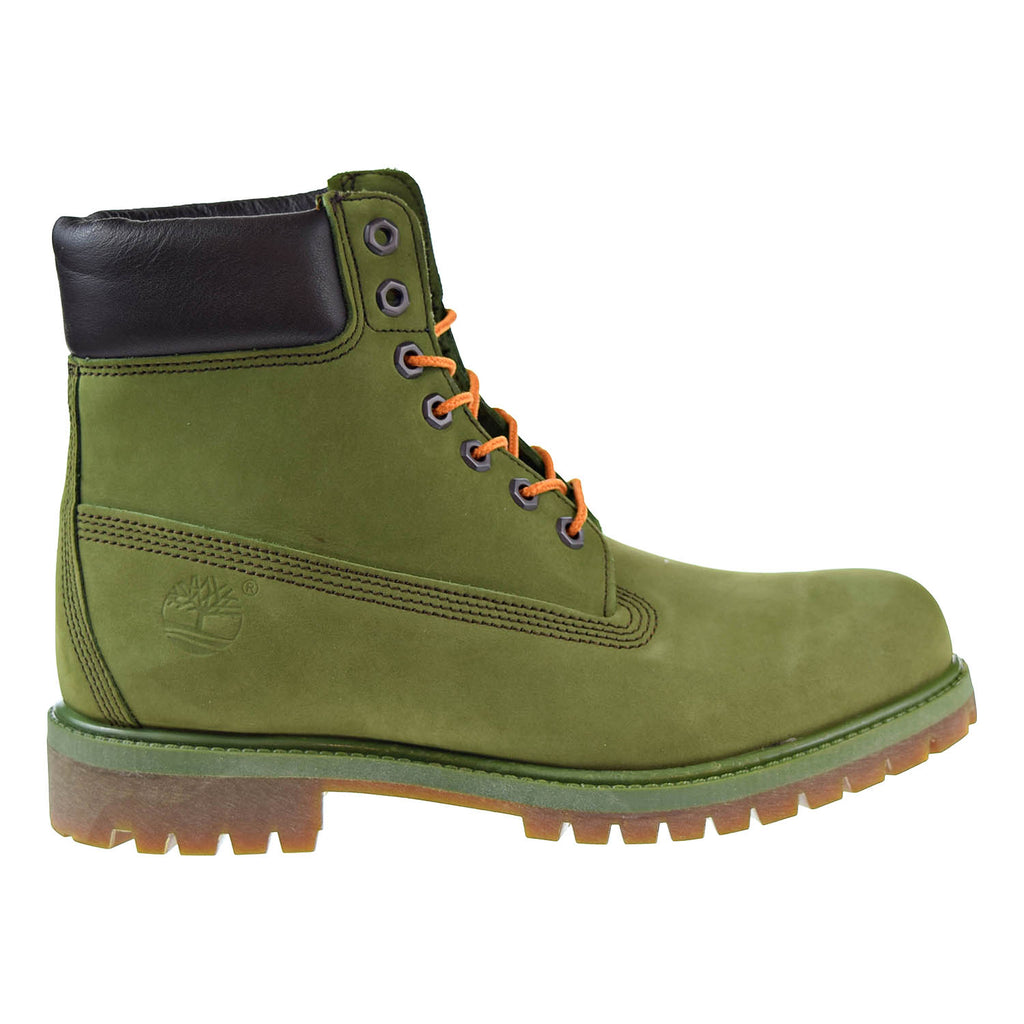 Timberland 6 Inch Premium Mens Boots Green