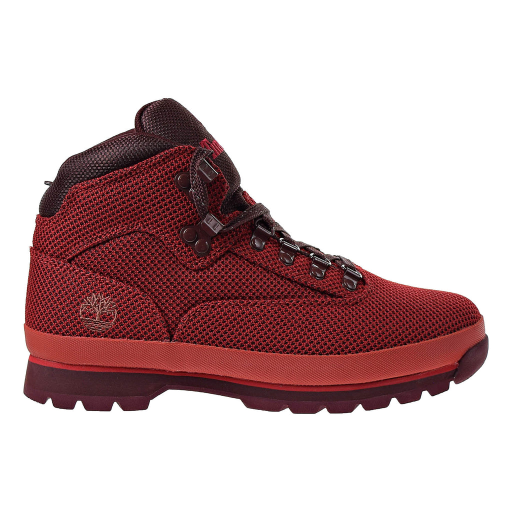 Timberland Euro Hiker Cordura Fabric MD Men's Boots Red