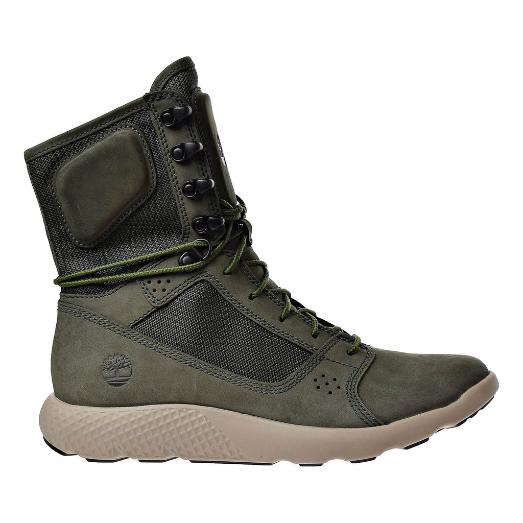 Timberland Limited Release Flyroam Tactical Leather Men's Boots Dark Green