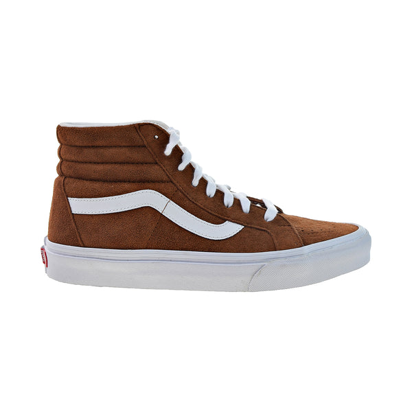 Vans Sk8 Hi Reissue Men's Shoes Pig Suede Brown