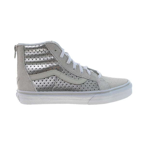 Vans SK8-Hi Zip Big Kids' Shoes Metallic Heart