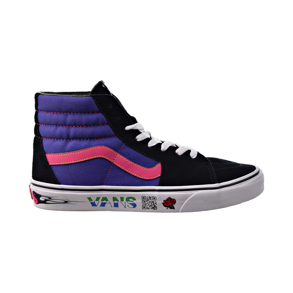 "Vans SK8 HI ""Disruptive"" Men's Shoes Black-Spectrum Blue"