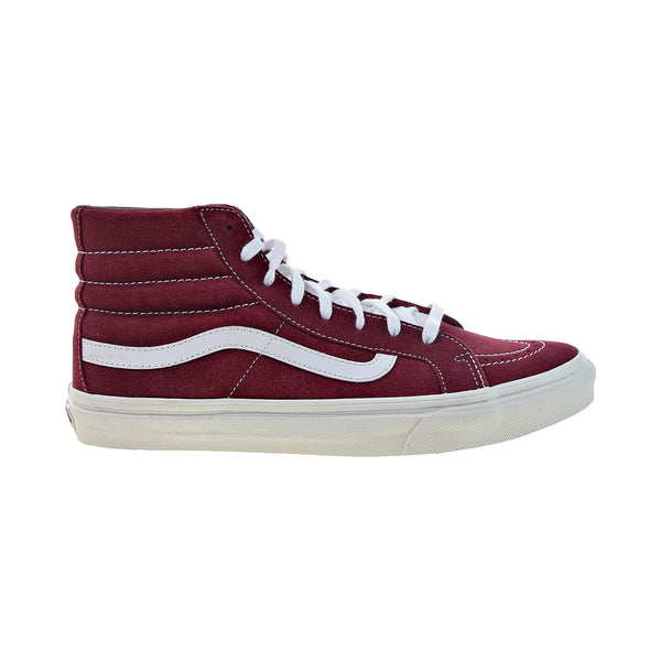 Vans Sk8-Hi Slim Men's Shoes Tibetan Red-True White