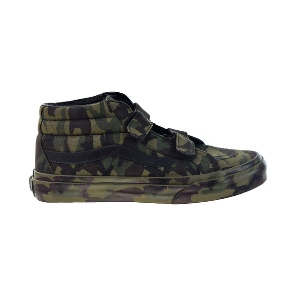 Vans Sk8-Mid Reissue V Big Kids' Shoes Classic Camo