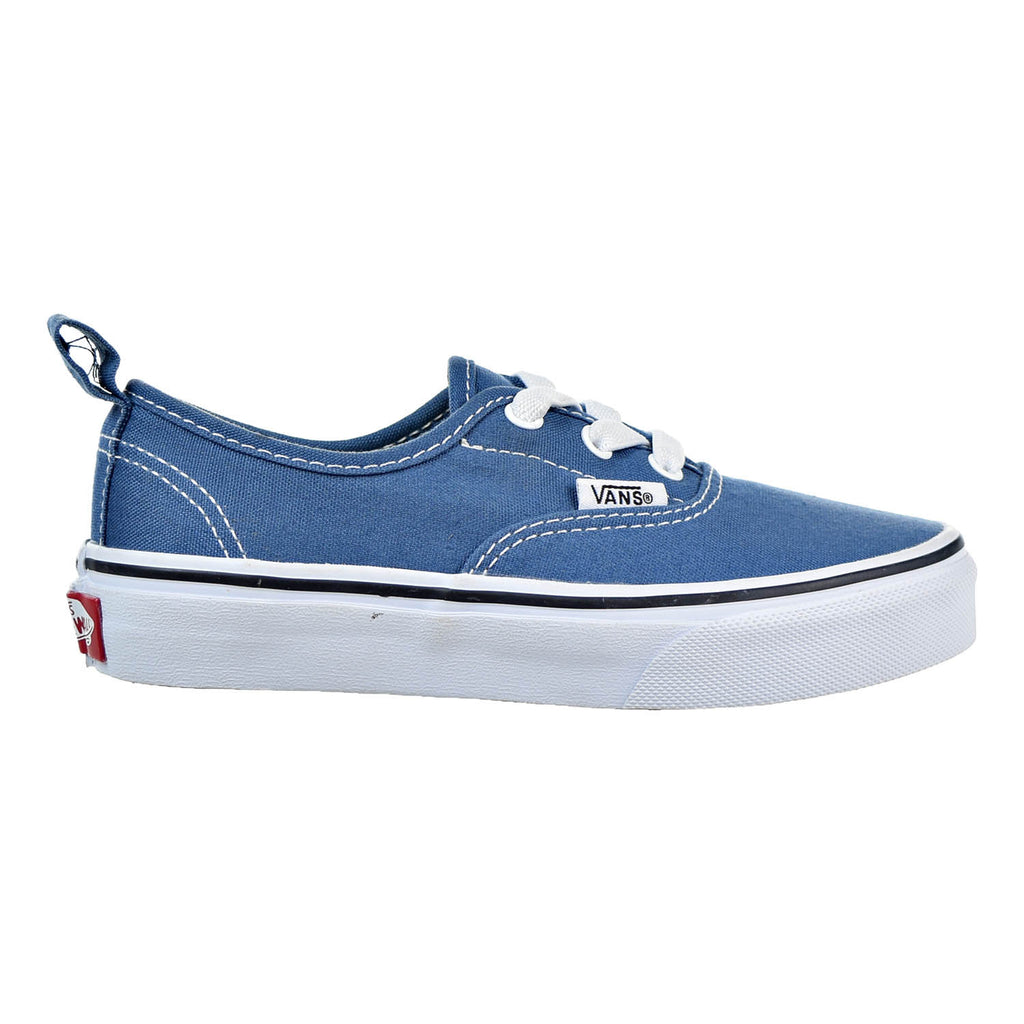 Vans Authentic Elastic Little Kid's Shoes Navy/White