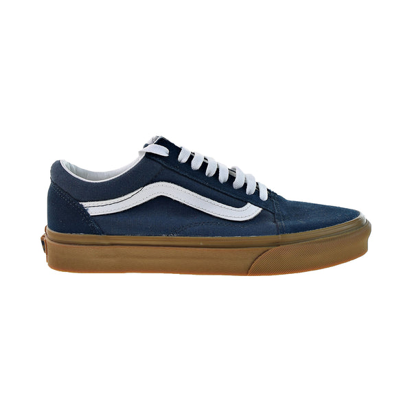 Vans Old Skool Skateboarding Men's Shoes Reflecting Pond-Gum