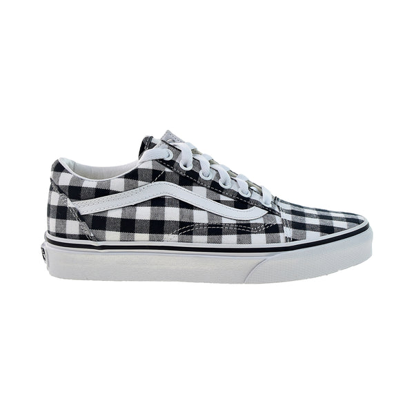 Vans Old Skool Men's Shoes Gingham-Black-White