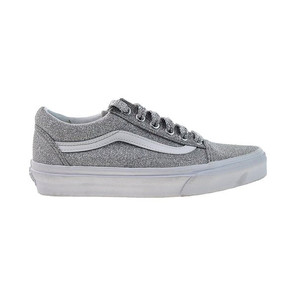 Vans Old Skool Men's Shoes Lurex Glitter-Silver