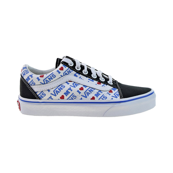 Vans Old Skool 'I Heart My Vans' Men's Shoes Black-True White