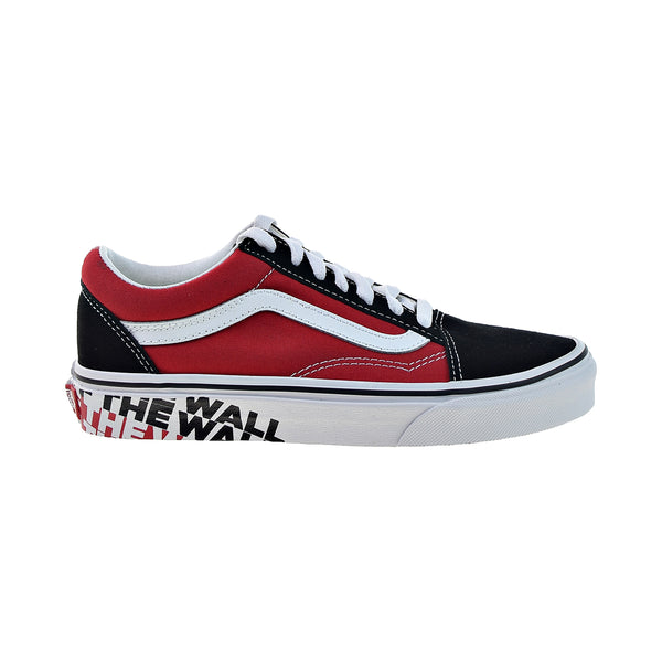 Vans Old Skool 'OTW Sidewall' Men's Shoes Black-Red