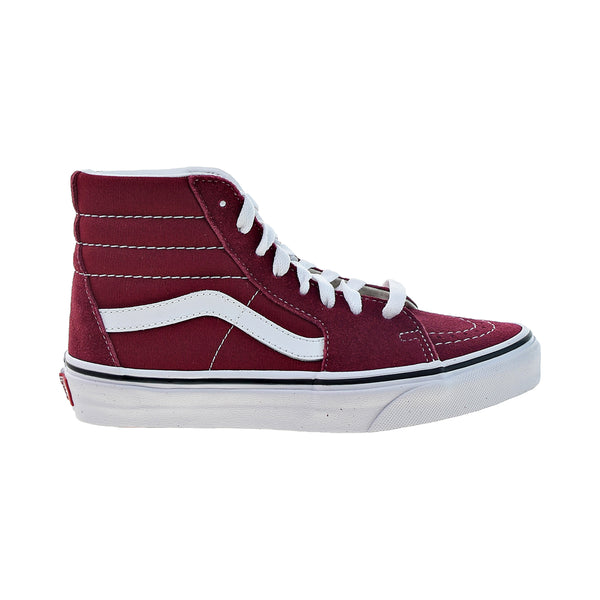 Vans Sk8-Hi Men's Shoes Rumba Red-True White