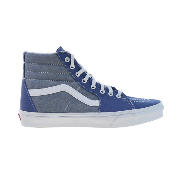 Vans SK8-Hi Men's Shoes Chambray True Navy