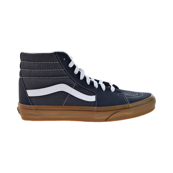 Vans Sk8-Hi Men's Canvas Shoes Ebony-Gum