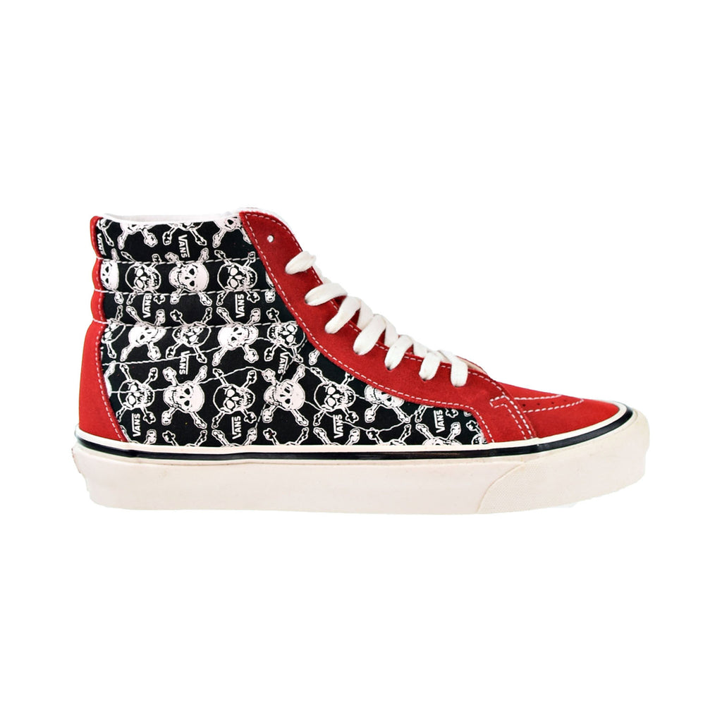 Vans Sk8-Hi 38 DX Men's Shoes Skulls-Red-Black
