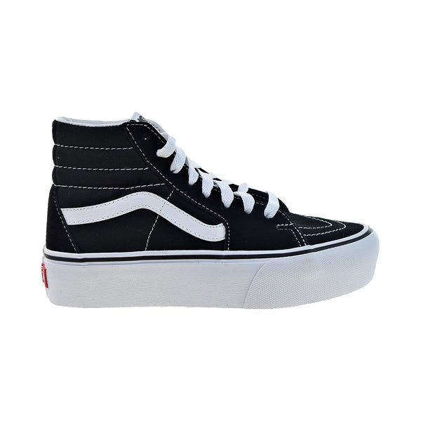 Vans Sk-8 Hi Platform 2 Men's Shoes Black-True White