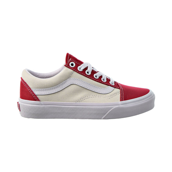 Vans Old Skool Classic Sport Men's Shoes Chilipepper-True White