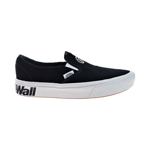 Vans ComfyCush Slip-On 'Distort' Men's Shoes Black-True White