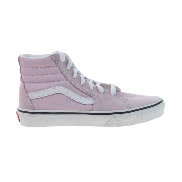 Vans Sk8-Hi Big Kids' Shoes Lilac Snow-True White