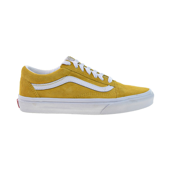 Vans Old Skool 'Pig Suede' Men's Shoes Mango Mojito-True White