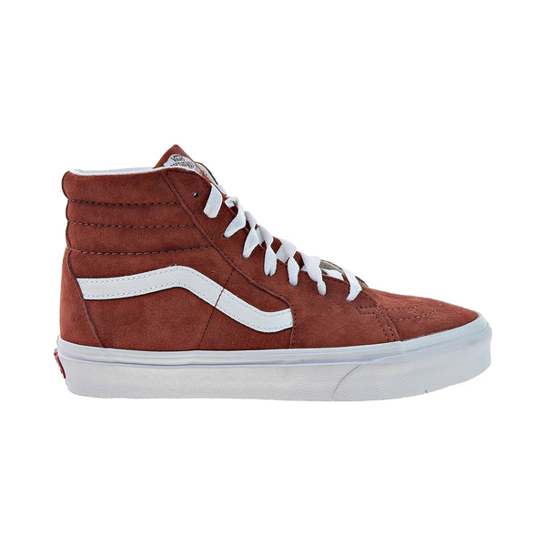 Vans Sk8-Hi Men's Shoes Burnt Brick-True White