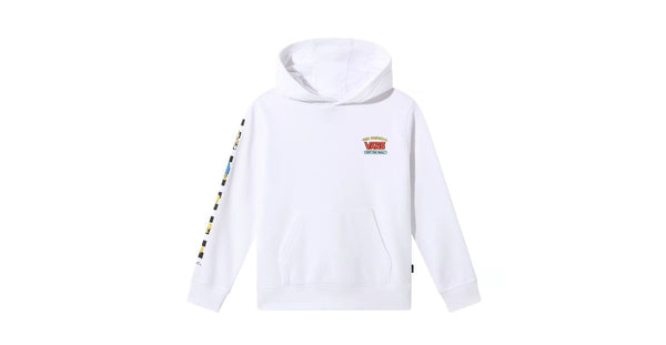 Vans X The Simpsons Family Little Kids' Pullover Hoodie White