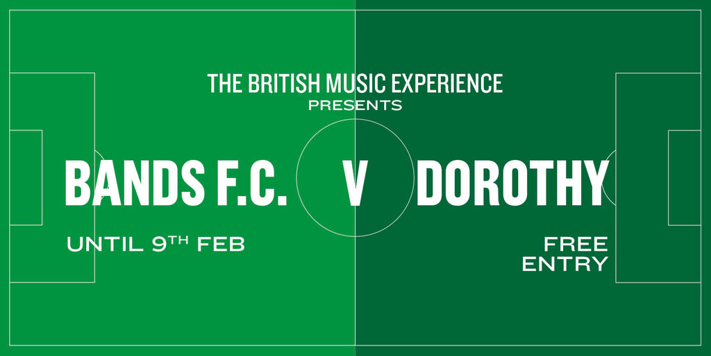 Dorothy V Bands FC - At The British Music Experience