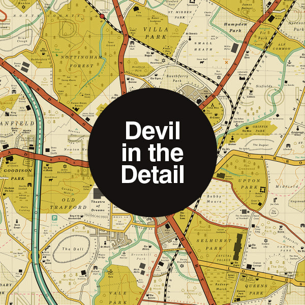 Devil in the Detail: Football Map
