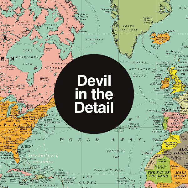 Devil in the Detail: World Song Map