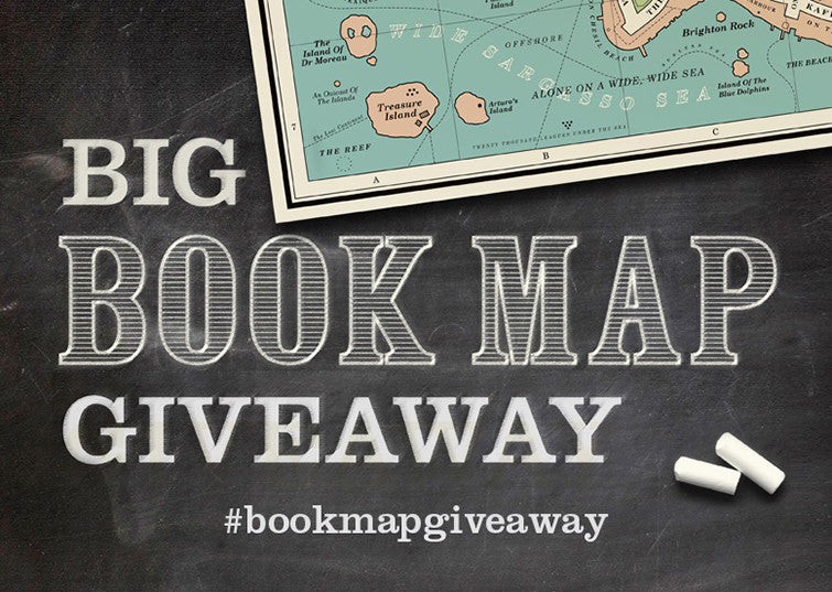The Big Book Map Giveaway for Schools