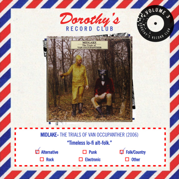 Dorothy Record Club Midlake