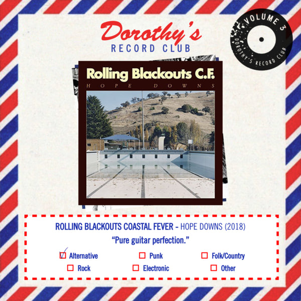 Dorothy Album Club Rolling Blackouts Coastal Fever