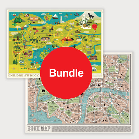 Maps: Special Offer Bundle - Book Map & Children's Book Map