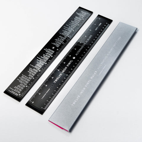 Twelve-Inch Vinyl Record Ruler: Alternative Albums 1977-1989