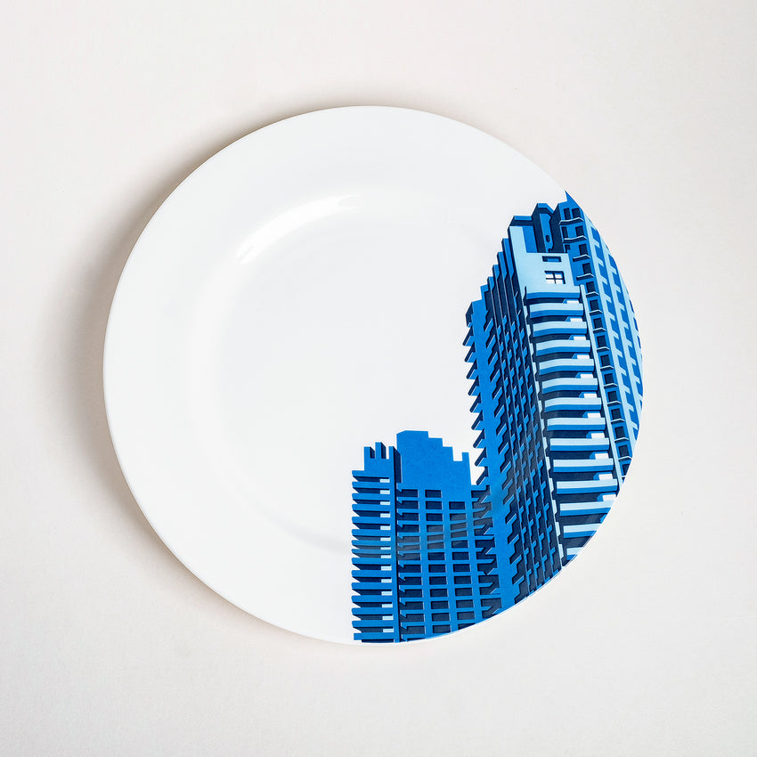 Barbican: Barbican Towers - Plate