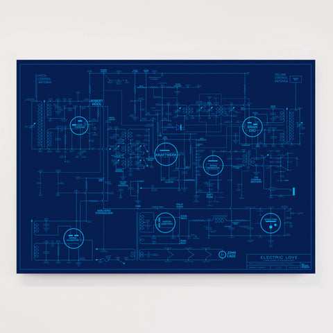Electric Love Blueprint - Special Edition for the Design Museum