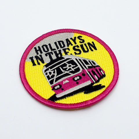 Punk Patches: Souvenir Travel Patches